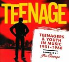 Teenage: Teenagers & Youth in Music 1951-1960 [Digipak] by Various Artists (CD, Nov-2011, Bear Family Records (Germany))