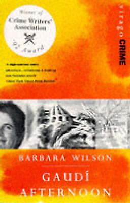 1 of 1 - Gaudi Afternoon, Wilson, Barbara, Used; Good Book