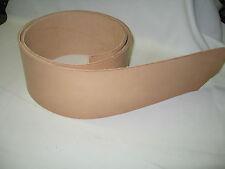 "Vegetable Tanned Leather Belt Blank 4"""