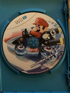 Mario Kart 8 Nintendo Wii U * DISC ONLY * TESTED-FREE SHIPPING