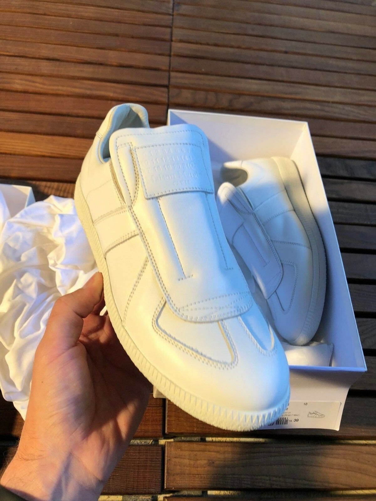 Maison Margiela Future Low Top Sneakers Size 39 New
