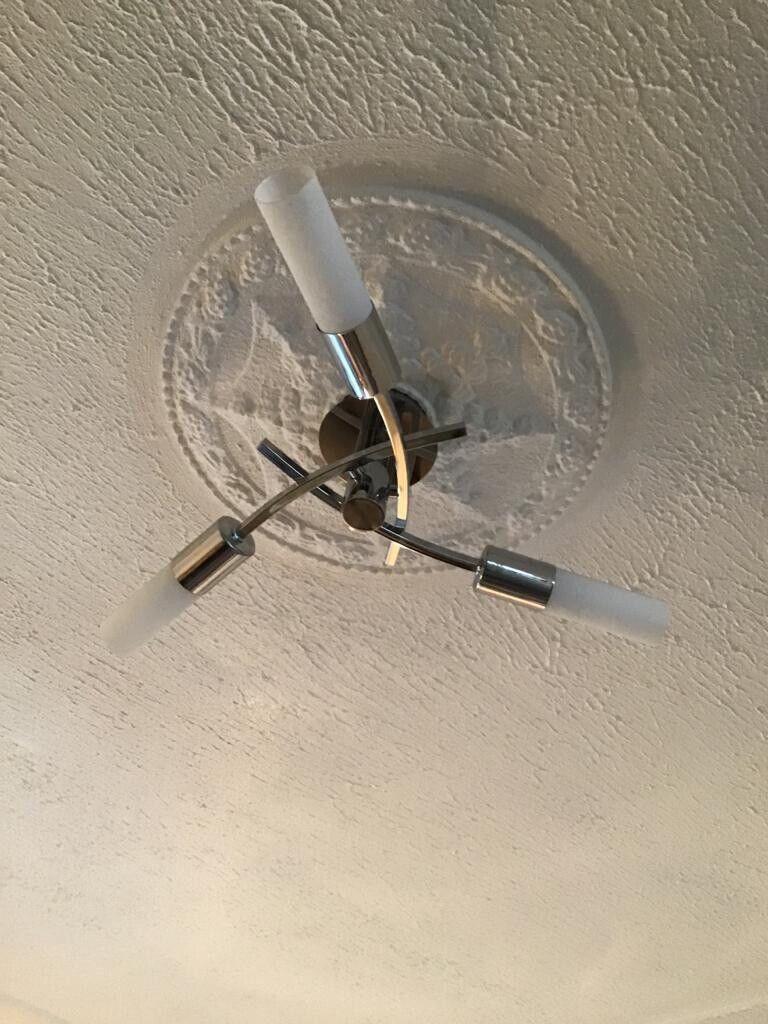 Next Seville 3 Light Flush Fitting, Seville 2 Light Wall Light, Table, Floor