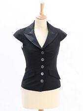Karen Millen Womens Lace Back Sleeveless Jacket Size 6