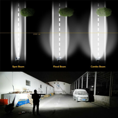 """CoLight CURVED 22/""""32/""""42/""""50/""""52/"""" LED Light Bar 3 ROWS Super Bright High Power CREE"""