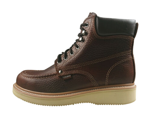 Men/'s Leather Work Boots Establo Style 513 Honey or Shedron Bull Fight
