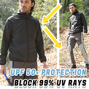 Details about Ultra Light Rainproof Sunscreen Windbreaker Men Women Outdoor Fishing Hiking HOT