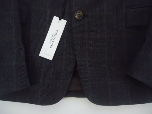 Blazer Fit Collectie Wool Nwt Gianni Versace Slim 695 40r Trim door maat qEEOwa0z