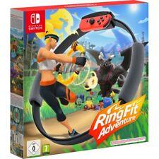 Nintendo SWITCH Ring Fit Adventure Fitnessspiel mit Ring-con und Beingurt WOW!