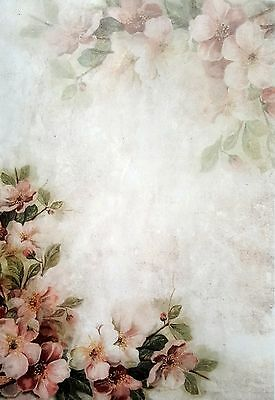 Rice Paper - for Decoupage - sheet - Art Light Roses  - Scrapbooking -