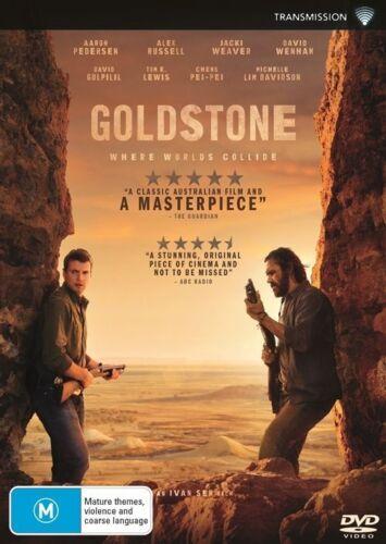 1 of 1 - Goldstone - DVD Movie - Aaron Pedersen Alex Russell - David Wenham
