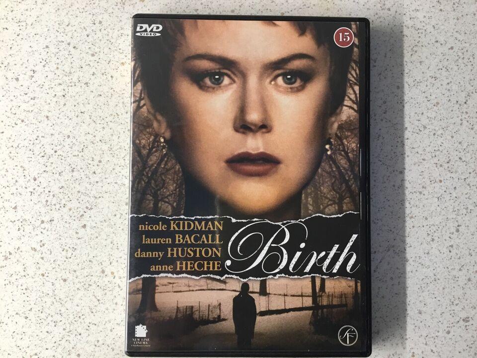 Birth, DVD, thriller