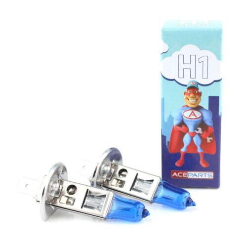 SKODA OCTAVIA 1U2 H1 55 W Bleu Glace Xenon HID Low Dip Beam Ampoules Phare Paire