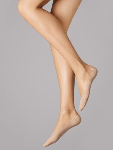 Wolford Cotton Footsies socks polarzip