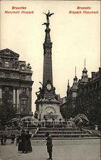 Brüssel Bruxelles Brussels Belgique ~1910 Monument Anspach Kind Child Boy Junge