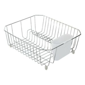 d7eb3cc1f38 Image is loading Rubbermaid-Small-Antimicrobial-Dish-Drainer