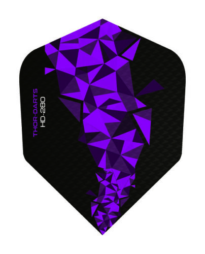 Dein F2-Mix 8 Farben 18 Flights THOR DARTS 150 micron Dart Flight extra strong
