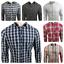 Ex-UK-Chainstore-Men-039-s-Long-Sleeves-Check-Cotton-Summer-Casual-Shirt-Tops thumbnail 1