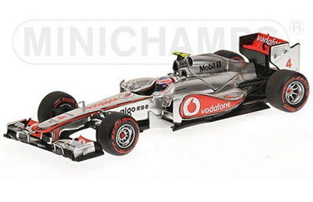 MINICHAMPS 530 114304 530 114314 McLaren F1 voiture modèle Jenson Button 2011 1 43