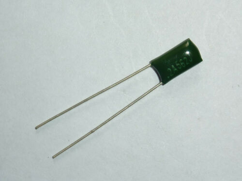 20PCS 100V 0.0056uF 5.6nF 5600pF 2A562J ±5/% Mylar Film Capacitors Radial