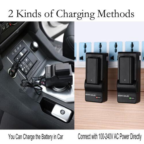 VPC-CG20 Cargador de Batería para Sanyo Xacti VPC-CG10 VPC-CG100 Videocámara VPC-CG21