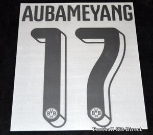 Borussia-Dortmund-Aubameyang-17-2015-16-Home-Football-Shirt-Name-Number-Set