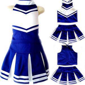c24343aac Image is loading Little-Girls-Kids-Children-Cheerleader-Uniform-Costume -Halloween-