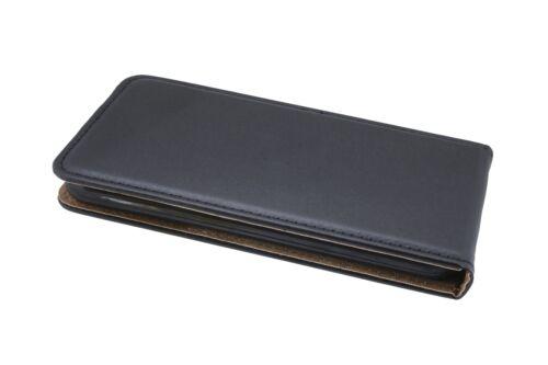 Funda para ZTE BLADE a6 case cover funda accesorios funda con lengüeta negro
