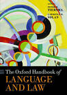 The Oxford Handbook of Language and Law by Oxford University Press (Paperback, 2016)