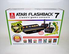 Retro Atari Flashback 7 Konsole mit 101 Spielen und 2 Wireless Controllern! NEU