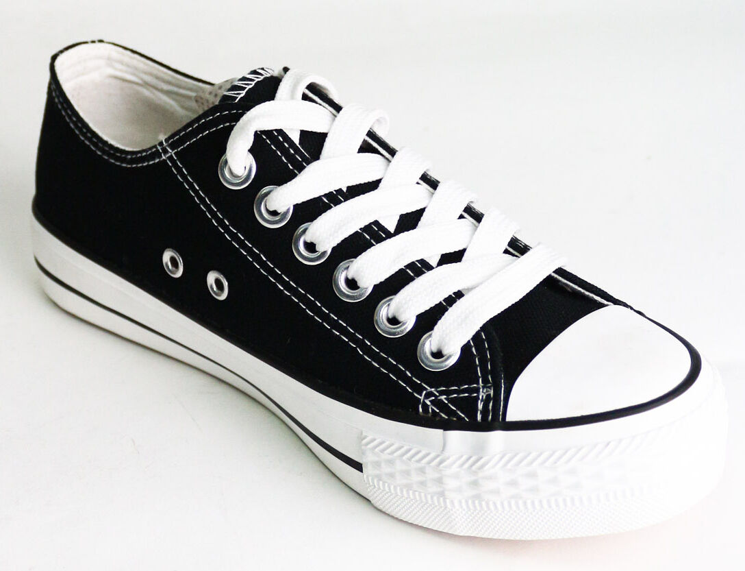 Scarpa Uomo Sneakers alte e basse in tela  da ginnastica Scarpe classiche da uomo
