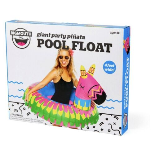 NEW Inflatable Big Mouth Giant Pinata Swimming Pool Float Tube Donkey W 4 Feet