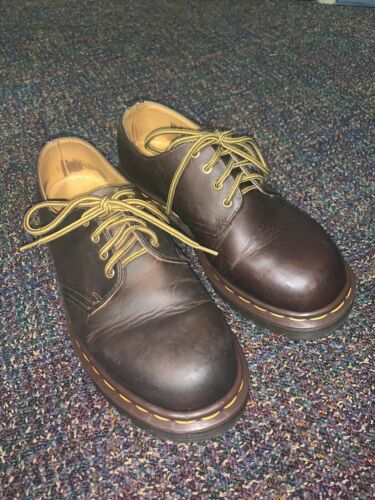 "DOC MARTENS Real LEATHER ""OXFORD"" SHOES MENS SIZE"