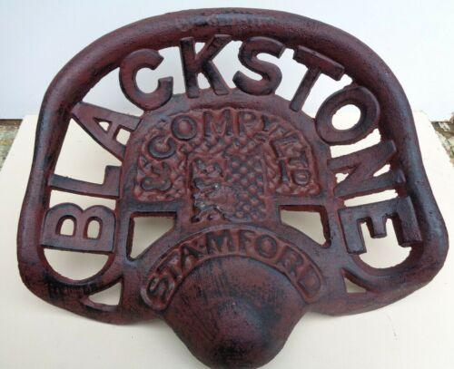 Muy atractivo fielmente reproducido de hierro fundido Blackstone Asiento del Tractor
