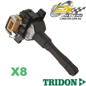 TRIDON-IGNITION-COIL-x8-FOR-BMW-740iL-E32-11-92-10-94-V8-4-0L-M60-B40