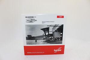 HERPA-019316-Boeing-amp-westervelt-MODEL-1-034-B-amp-w-034-1-87-h0-NEUF-dans-emballage-d-039-origine