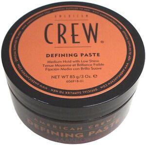 2 Pezzi American Crew defining paste 85 gr cera capelli .Tenuta Media