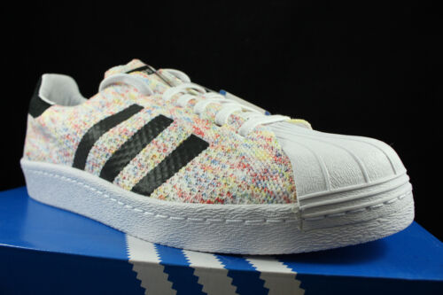 Pk 10 Prime Pack Adidas Multicolor S75845 Blanco Negro Superstar Sz Knit 80's xq7xfwOBY