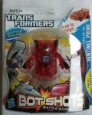 Transformers Bot Shots Super Bot 001 Sentinel Prime  Clear Transparent Variant