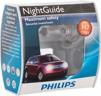2x Philips H7 Upgrade Extra Bright Vision 50ft More Light Bulb 12972 by GERMANY