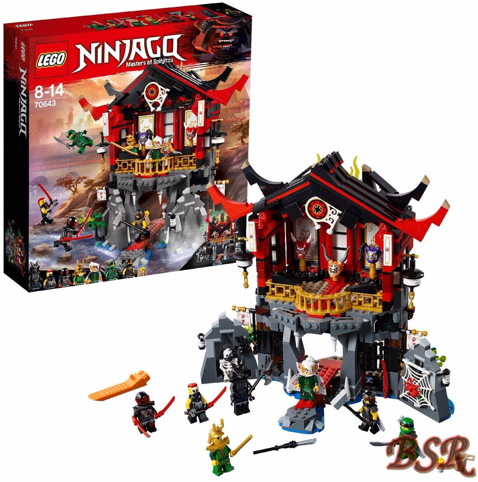 LEGO ® Ninjago  70643 Temple de la résurrection  NOUVEAU & NEUF dans sa boîte & 0. - expédition