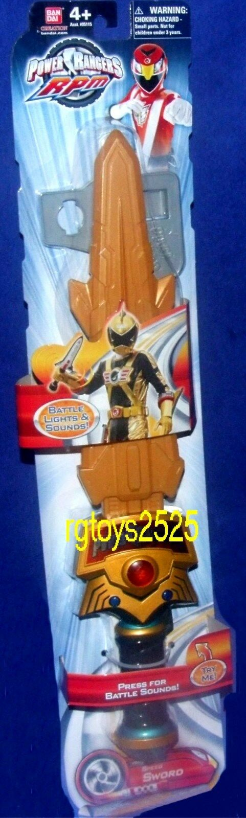 Power Ranger RPM Electronic Speed Sword 17