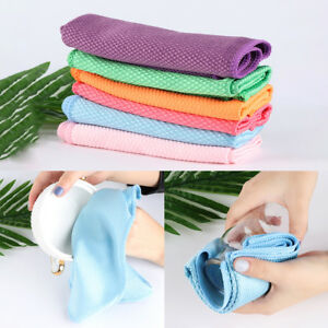 Car-Glass-Window-Household-Dish-Cloth-Washing-Towel-Cleaning-Rags-Scouring-Pad