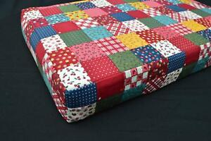LF802t-Teal-Red-White-Yellow-Blue-Cotton-Canvas-3D-Seat-Box-Shape-Cushion-Cover