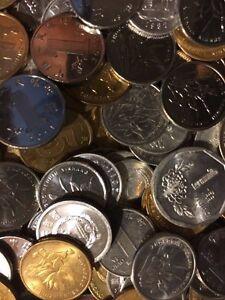 200 Gramm Restmünzen/Umlaufmünzen China