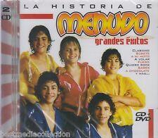 SEALED - La Historia De Menudo CD NEW Grandes Exitos SET De CD + 1 DVD Nuevo
