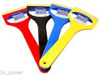 2x Fantastic Brand 9 Brass Blade Ice Scraper / Cj Industries F101 - Two Pieces