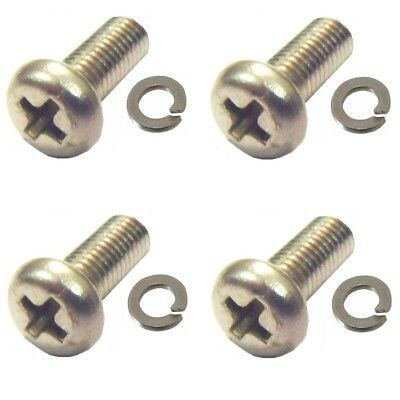 Yamaha RD125LC Carb Float Screws with captive washers packs of 4