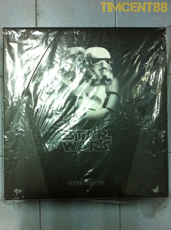 Prêts  Hot Toys MMS268 Star Wars New Hope Stormtrooper Stormtroopers Set Normal