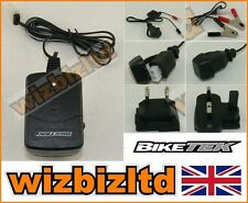 BIKETEK Motorcycle Battery Trickle Charger with Auto Cut Off (6v / 12v) BCH012