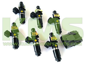 Bosch-1250cc-Fuel-Injector-Package-to-Suit-Skyline-R32-GTR-RB26DETT